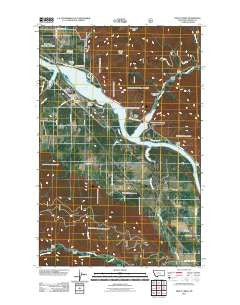 Trout Creek Montana Historical topographic map, 1:24000 scale, 7.5 X 7.5 Minute, Year 2011