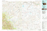 Valier Montana Historical topographic map, 1:100000 scale, 30 X 60 Minute, Year 1984