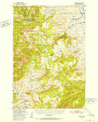 Varney Montana Historical topographic map, 1:62500 scale, 15 X 15 Minute, Year 1949