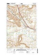 Vaughn Montana Current topographic map, 1:24000 scale, 7.5 X 7.5 Minute, Year 2014 from Montana Map Store