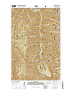Vermilion Peak Montana Current topographic map, 1:24000 scale, 7.5 X 7.5 Minute, Year 2014 from Montana Map Store