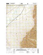 Waterloo Montana Current topographic map, 1:24000 scale, 7.5 X 7.5 Minute, Year 2014 from Montana Maps Store