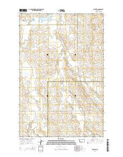 Watkins Montana Current topographic map, 1:24000 scale, 7.5 X 7.5 Minute, Year 2014 from Montana Maps Store