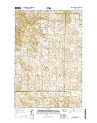 Weed Creek West Montana Current topographic map, 1:24000 scale, 7.5 X 7.5 Minute, Year 2014