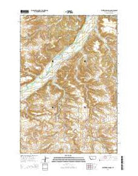 Whitebird School Montana Current topographic map, 1:24000 scale, 7.5 X 7.5 Minute, Year 2014