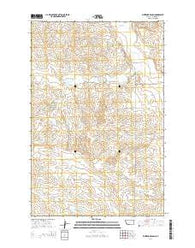Whiteside Ranch Montana Current topographic map, 1:24000 scale, 7.5 X 7.5 Minute, Year 2014