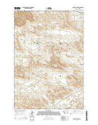Whitetail Creek Montana Current topographic map, 1:24000 scale, 7.5 X 7.5 Minute, Year 2014