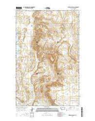 Whitewater East Montana Current topographic map, 1:24000 scale, 7.5 X 7.5 Minute, Year 2014