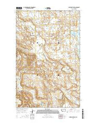 Whitewater West Montana Current topographic map, 1:24000 scale, 7.5 X 7.5 Minute, Year 2014
