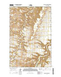 Wild Bill Flat West Montana Current topographic map, 1:24000 scale, 7.5 X 7.5 Minute, Year 2014
