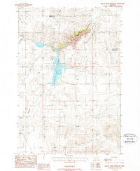 Willow Creek Reservoir Montana Historical topographic map, 1:24000 scale, 7.5 X 7.5 Minute, Year 1988