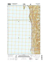 Woods Bay Montana Current topographic map, 1:24000 scale, 7.5 X 7.5 Minute, Year 2014