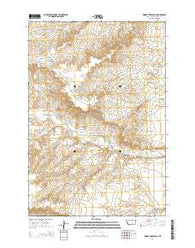 Woody Creek Camp Montana Current topographic map, 1:24000 scale, 7.5 X 7.5 Minute, Year 2014