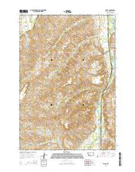 Wyola Montana Current topographic map, 1:24000 scale, 7.5 X 7.5 Minute, Year 2014