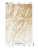 Yaple Bench Montana Current topographic map, 1:24000 scale, 7.5 X 7.5 Minute, Year 2014 from Montana Map Store