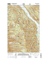 Yew Creek Montana Current topographic map, 1:24000 scale, 7.5 X 7.5 Minute, Year 2014