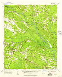 Acme North Carolina Historical topographic map, 1:62500 scale, 15 X 15 Minute, Year 1954