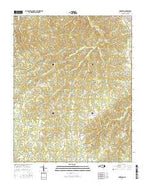 Anderson North Carolina Current topographic map, 1:24000 scale, 7.5 X 7.5 Minute, Year 2016 from North Carolina Map Store