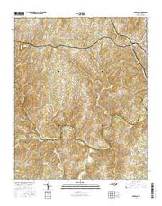 Aquadale North Carolina Current topographic map, 1:24000 scale, 7.5 X 7.5 Minute, Year 2016 from North Carolina Maps Store