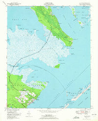 Atlantic North Carolina Historical topographic map, 1:24000 scale, 7.5 X 7.5 Minute, Year 1949