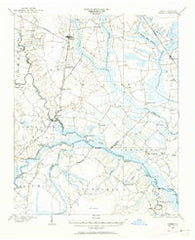 Ayden North Carolina Historical topographic map, 1:62500 scale, 15 X 15 Minute, Year 1902