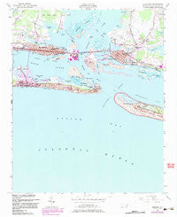 Beaufort North Carolina Historical topographic map, 1:24000 scale, 7.5 X 7.5 Minute, Year 1949