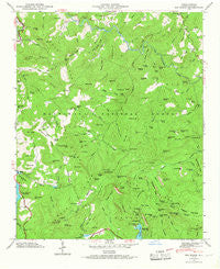 Big Ridge North Carolina Historical topographic map, 1:24000 scale, 7.5 X 7.5 Minute, Year 1946