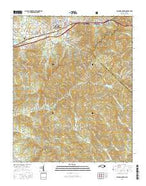 Black Mountain North Carolina Current topographic map, 1:24000 scale, 7.5 X 7.5 Minute, Year 2016 from North Carolina Map Store