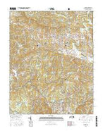 Boone North Carolina Current topographic map, 1:24000 scale, 7.5 X 7.5 Minute, Year 2016 from North Carolina Map Store