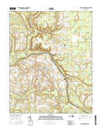 Boones Crossroads North Carolina Current topographic map, 1:24000 scale, 7.5 X 7.5 Minute, Year 2016 from North Carolina Map Store