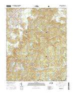 Brevard North Carolina Current topographic map, 1:24000 scale, 7.5 X 7.5 Minute, Year 2016 from North Carolina Map Store
