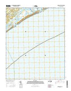 Browns Inlet North Carolina Current topographic map, 1:24000 scale, 7.5 X 7.5 Minute, Year 2016 from North Carolina Map Store