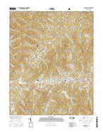 Burnsville North Carolina Current topographic map, 1:24000 scale, 7.5 X 7.5 Minute, Year 2016 from North Carolina Map Store