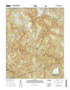 Cashiers North Carolina Current topographic map, 1:24000 scale, 7.5 X 7.5 Minute, Year 2016 from North Carolina Map Store