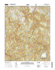 Buy topo map Cashiers NC, 2016 – YellowMaps Map Store Cashiers Nc Map on