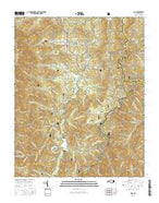 Celo North Carolina Current topographic map, 1:24000 scale, 7.5 X 7.5 Minute, Year 2016 from North Carolina Map Store