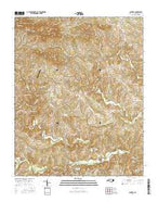 Central North Carolina Current topographic map, 1:24000 scale, 7.5 X 7.5 Minute, Year 2016 from North Carolina Map Store