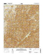 Cliffield Mountain North Carolina Current topographic map, 1:24000 scale, 7.5 X 7.5 Minute, Year 2016 from North Carolina Map Store