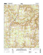 Conway North Carolina Current topographic map, 1:24000 scale, 7.5 X 7.5 Minute, Year 2016 from North Carolina Map Store