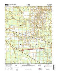 Cove City North Carolina Current topographic map, 1:24000 scale, 7.5 X 7.5 Minute, Year 2016