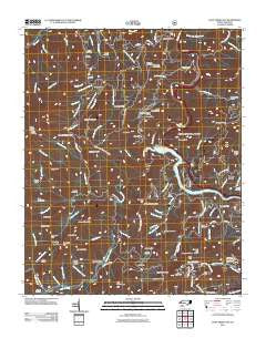 Cove Creek Gap North Carolina Historical topographic map, 1:24000 scale, 7.5 X 7.5 Minute, Year 2011