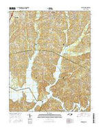 Creedmoor North Carolina Current topographic map, 1:24000 scale, 7.5 X 7.5 Minute, Year 2016 from North Carolina Map Store