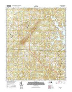 Denver North Carolina Current topographic map, 1:24000 scale, 7.5 X 7.5 Minute, Year 2016 from North Carolina Map Store