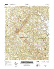 Denver North Carolina Current topographic map, 1:24000 scale, 7.5 X 7.5 Minute, Year 2016 from North Carolina Maps Store