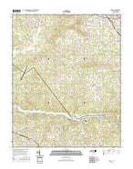 Drexel North Carolina Current topographic map, 1:24000 scale, 7.5 X 7.5 Minute, Year 2016 from North Carolina Map Store