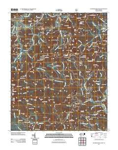 Dunsmore Mountain North Carolina Historical topographic map, 1:24000 scale, 7.5 X 7.5 Minute, Year 2011