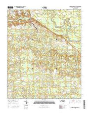 Elizabethtown South North Carolina Current topographic map, 1:24000 scale, 7.5 X 7.5 Minute, Year 2016 from North Carolina Maps Store