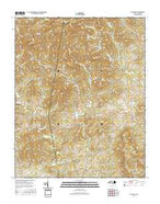 Ellendale North Carolina Current topographic map, 1:24000 scale, 7.5 X 7.5 Minute, Year 2016 from North Carolina Map Store