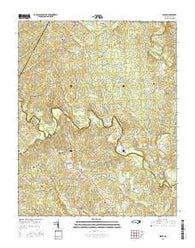 Essex North Carolina Current topographic map, 1:24000 scale, 7.5 X 7.5 Minute, Year 2016
