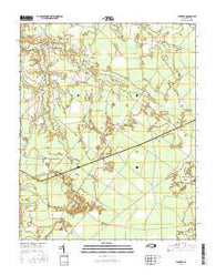 Farmlife North Carolina Current topographic map, 1:24000 scale, 7.5 X 7.5 Minute, Year 2016